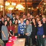 Reunión de periodistas bercianos en Madrid 2013 - 0